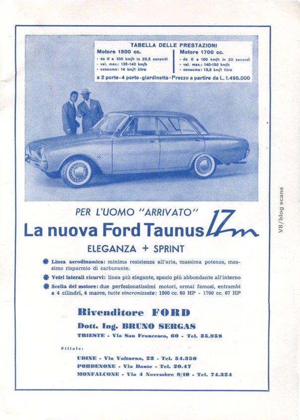 (dal regolamento Rally S.Giusto 1961)
